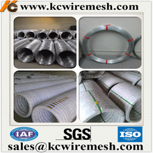 HOT!!!!!!! KangChen hot dipped galvanized oval farm fence wire 3.0x2.7mm 1000m to South America