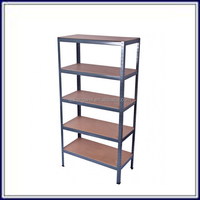 Heavy duty department convenience store shelving