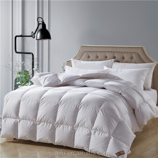 Fluffy Warm Cotton White Hotel Microfiber Down Alternative Duvet