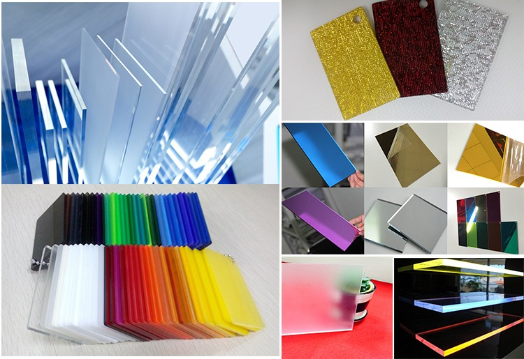 China supplier decorative 3mm thick silver mirror acrylic sheet