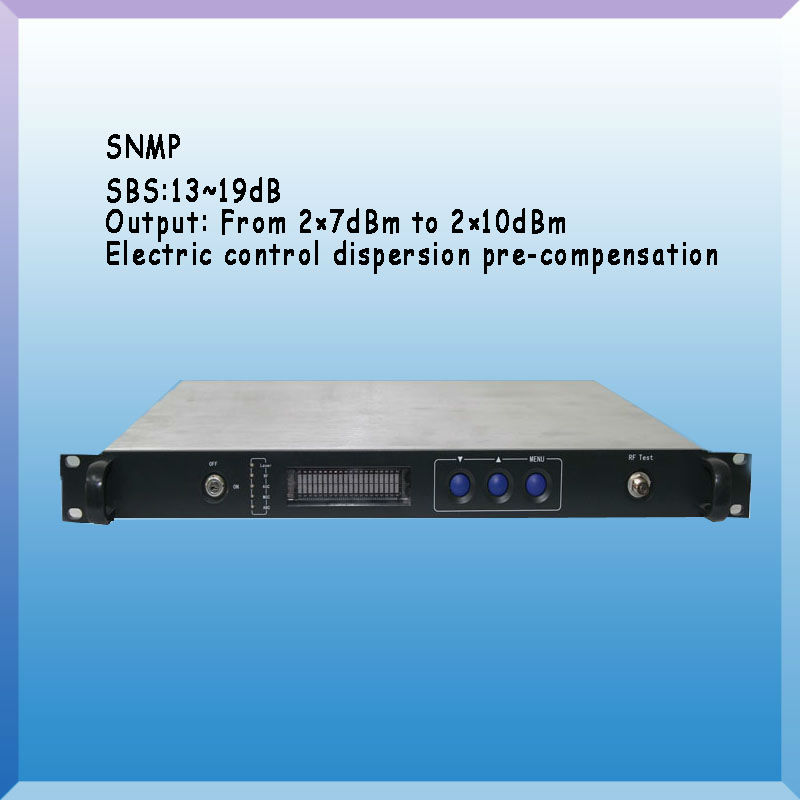 External Modulated Multi-port Output 1550nm Optical CATV Transmitter