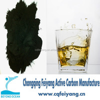 Methyln blue Wood based Activated Carbon for Alcohol Purification