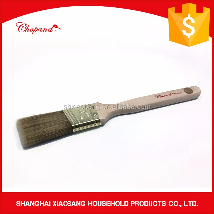 Difference Size Wooden Handle Oil Paint Brushes