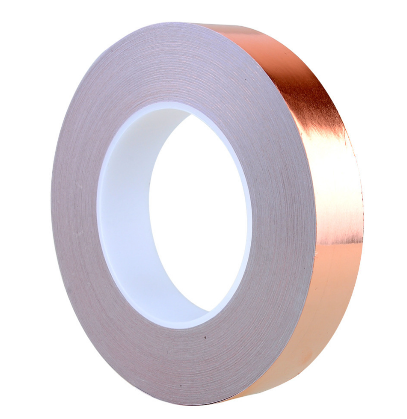 Copper Insulation Tape : Double side conductive copper foil tape with high