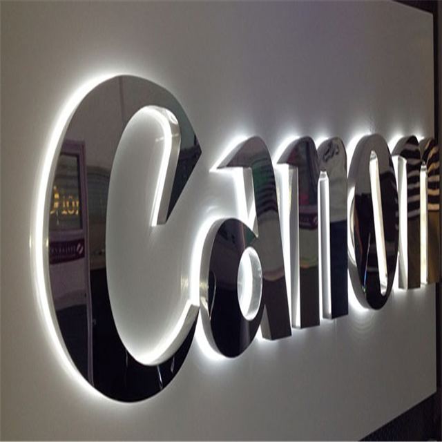 Custom led channel metal letters 3d logo used outdoor lighted <strong>signs</strong>