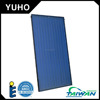 Flat panel aluminum solar energy water heater