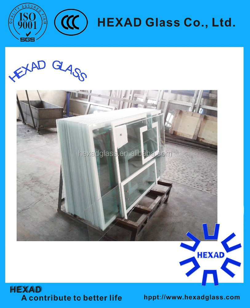 8mm Clear Tempered glass for basketball backboard with ISO Certificate