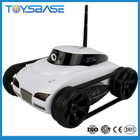 HappyCow 777-287 i-SPY Tank wifi 4-CH controlled by iPhone/iPad/iPod rc car with video camera