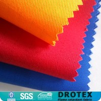UL certificated nylon cotton fire proof uniform fabric / fireproof textiles / cloth