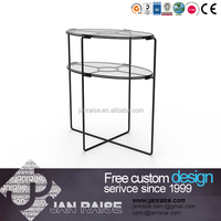Luxury coffee tables glass side table coffee table living room furniture