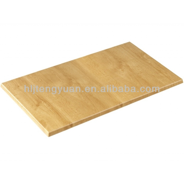 Rectangle Wildly Using Solid Wood Dining Fast Food Table Top