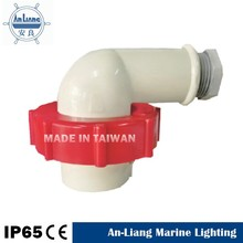 Folding outdoor yacht marine impa 792758 red AC 220v 440v 16a 3p industrial power IEC right angle 90 degree plug