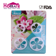 4pcs plunger cutter cake cookie fondant mold decorating kitchen tool