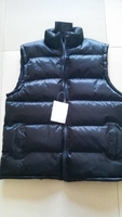 fashion casual style men's warm light padding vest for winter or fall