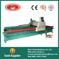Low energy copper sheet v groove machine metal