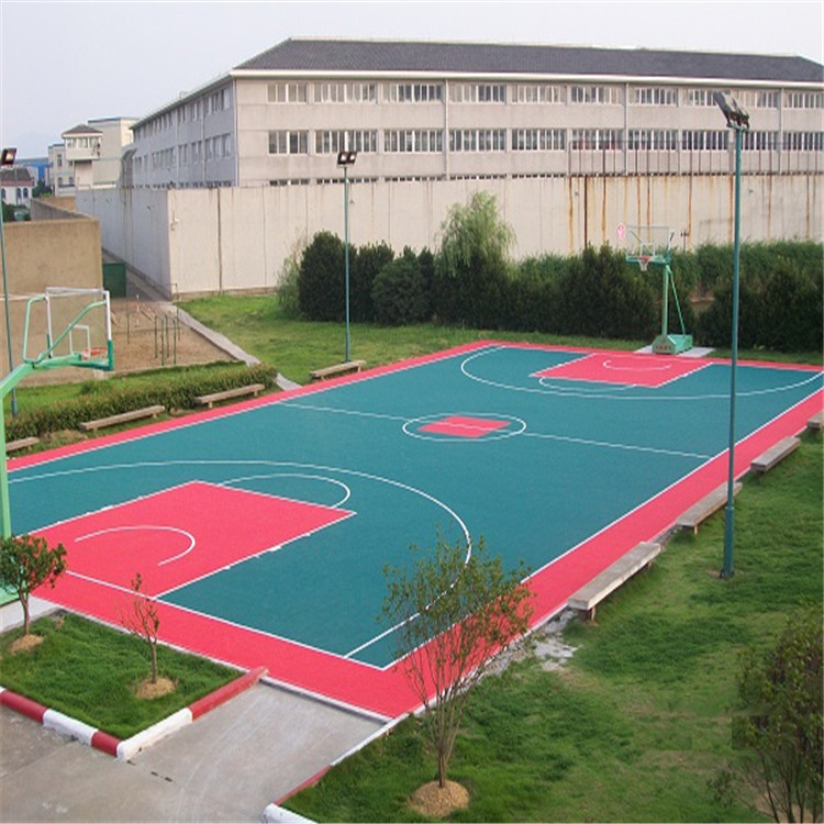 Good price of indoor and outdoor basketball court floor mat / basketball court sports flooring