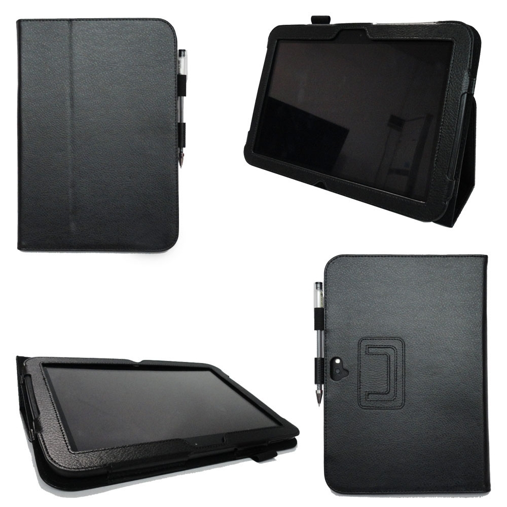 Customize Logo Leather Protective Cover Flip Tablet Case For Google Nexus10