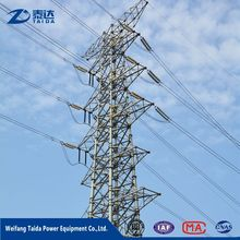 High Strength Electric Steel Monopole Tubular Power Transmission Tower