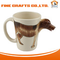 3D Ceramic Coffee Mug Dog Cup Wholesale