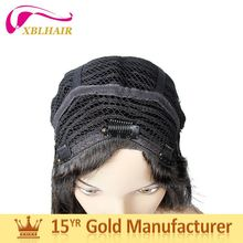 XBL factory natural color can be bleached african american braided wigs