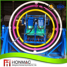 Outdoor spring park children rides thrilling 3d space rings gyroscope ride