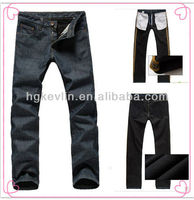 oem custom brand and logo 2013 winter ready made jeans
