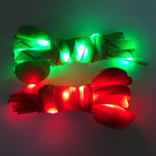 Factory price shoelaces led nylon shoe laces for party decoration