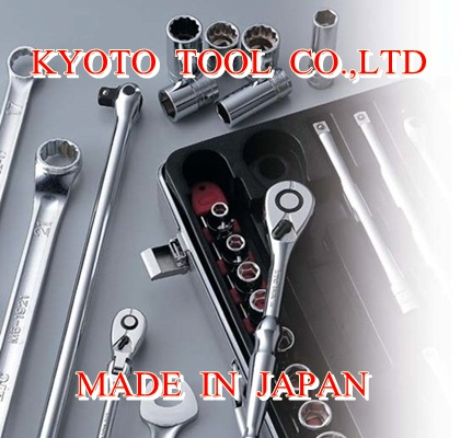 "KTC Japanese tool brand 1/4""sq.FLEX ROUND HEAD SHORT RATCHET HANDLE"