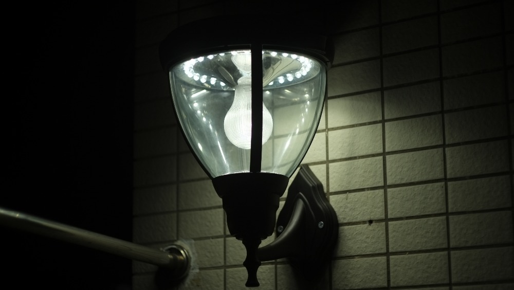Led Outdoor Security Wall Lights Dusk To Dawn Light Sensor Motion Activated