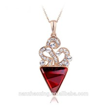 OUXI new coming wholesale sexy charming women 18k gold jewelry