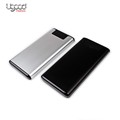 Newest 2017 Portable aluminum Power Bank 10000mah, Power Banks Supplier, double usb power chager with led light