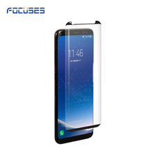 Tempered glass screen protector, full adhesive glue 3D glass for Samsung Note 8 glass screen protector