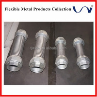 wire braid flex metal ss gas hose