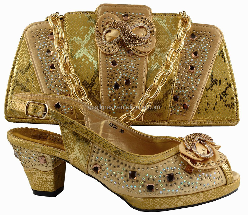 ab8379 5 latest noble design african shoes and bags