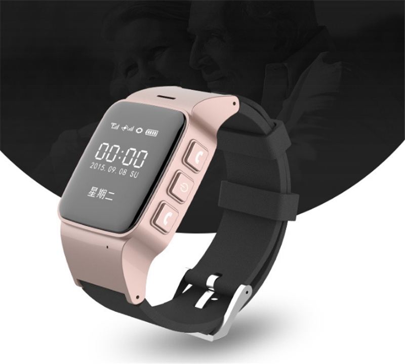 2017 New Smart GPS Tracker D99 <strong>WIFI</strong>+LBS+Positioning Android GPS Smart Watch for old people
