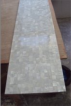beautiful River shell mesh mounted seamless pure white mother of pearl shell mosaic tile