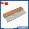Wallpaper brush with wooden handle 3 rows 8inch