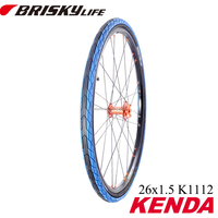 Colorful bicycle tire for city bikes and mountain bikes