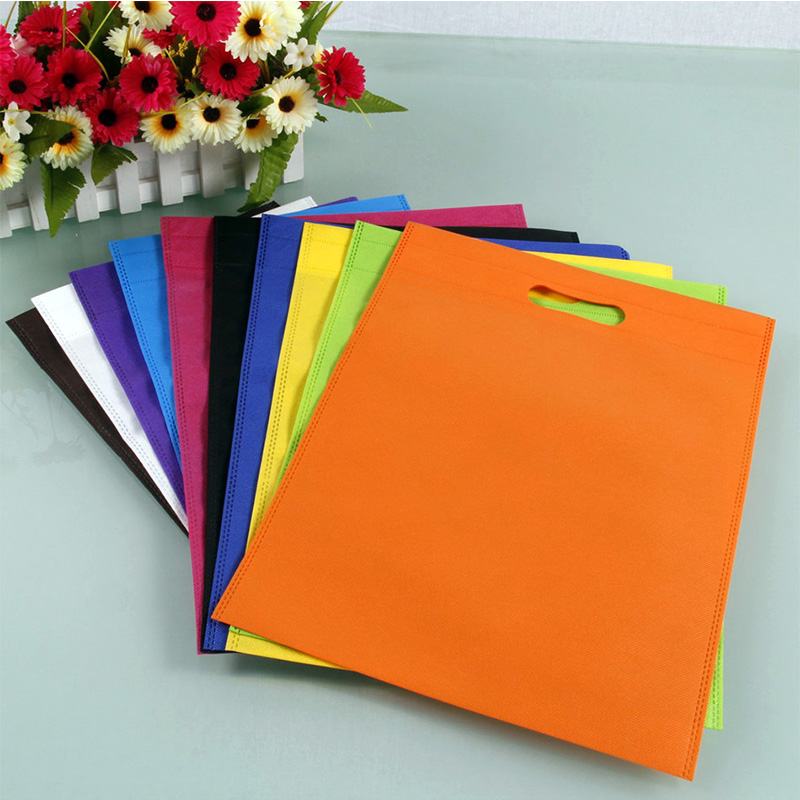 Nice quality purple eco friendly bag reusable shopping bags