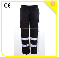 Hi-vis reflective safety work pant/work trousers