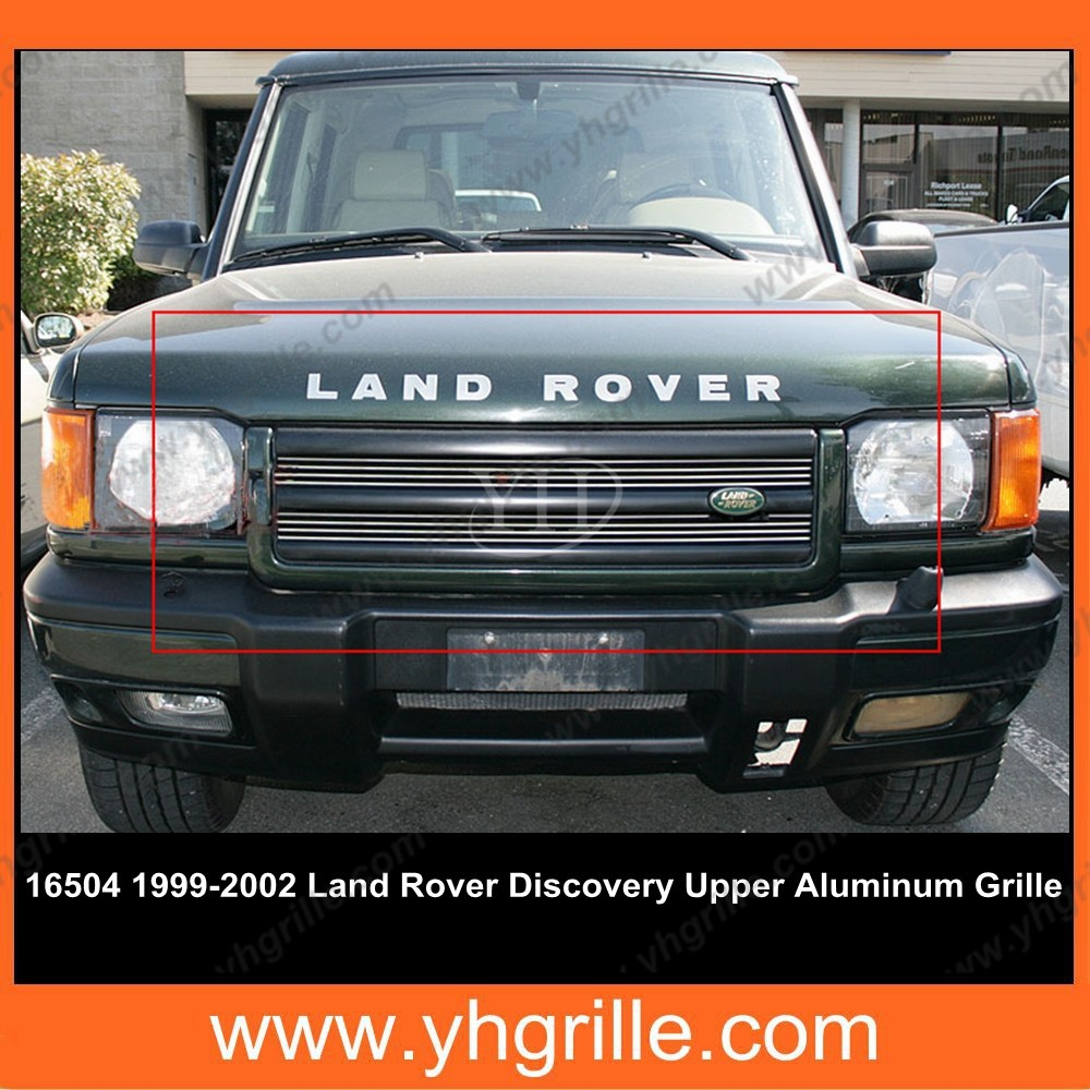 Front Grille Guard For Land Rover Discovery