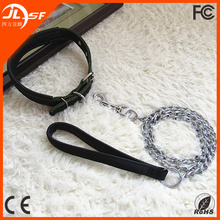 Best Selling Durable Nylon Collar Chain Leash Pet Dog Lead