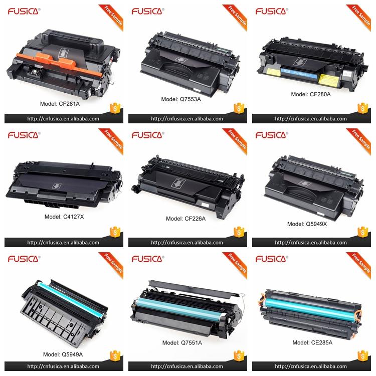 Fusica importados top Um toner 505A laser cerâmica consumíveis cartucho de toner compatível com Hp Laserjet P3016/P3015