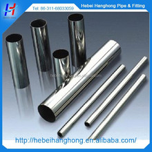 ERW technique hollow hexagonal stainless steel pipe