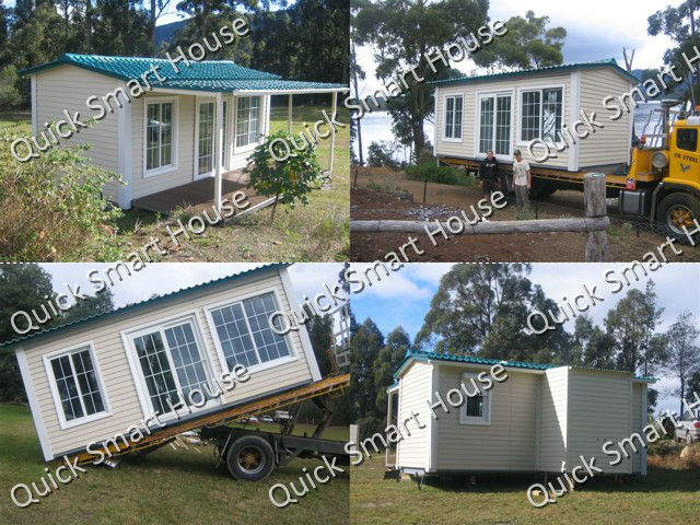 NEW: Perfect Design for prefab garden house 3 x 6m: transportable by truck !