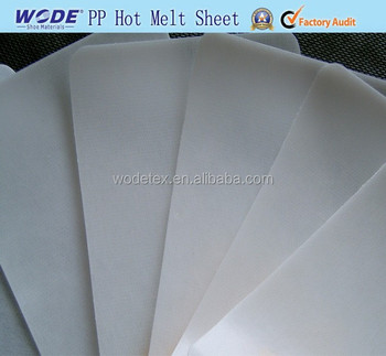 Solvent PING PONG Sheet in Shoe Linings