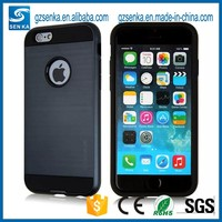 wholesale verus brush satin cell phone defender case for iPhone 5s/5se