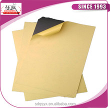 Flat Two double side adhesive PVC album inner sheets, wholesale cheap pvc sheet