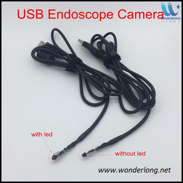 Micro USB Endoscope Camera 5.5mm Portable OTG Two in one joint 1M 2M 3.5M 5M