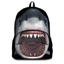 12 Inch Kids 3D Cartoon Zoo Animal Picture of School Bags Backpacks